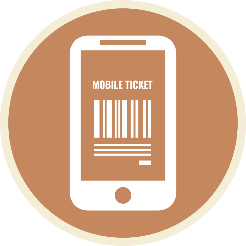 Mobile Ticketing Icon